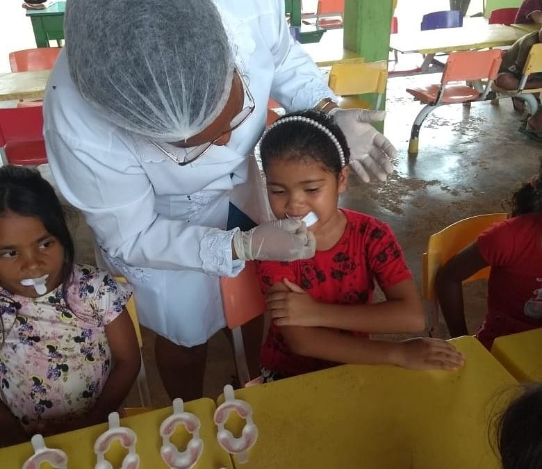 Programa Saúde na Escola realiza ação sobre Saúde Bucal em Curionópolis