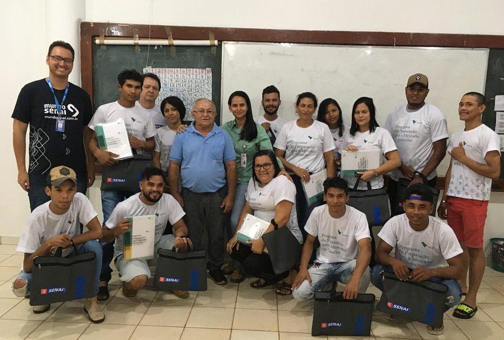 Vale desenvolve programa de formação profissional para comunidades vizinhas ao projeto Salobo III