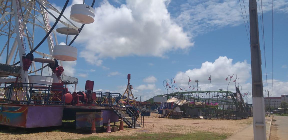 Corpo de Bombeiros interdita parque de diversões em Parauapebas