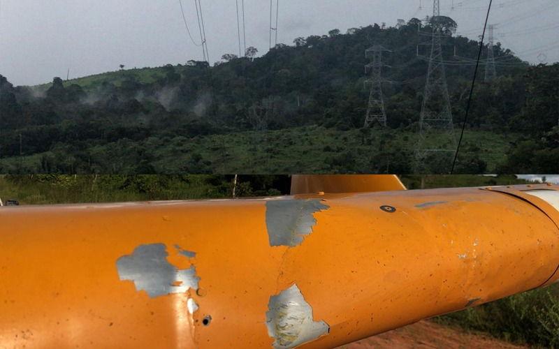Avião bate em linhão e deixa 10 municípios sem internet no Pará