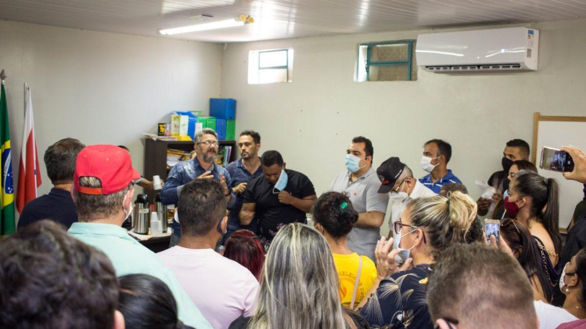 Muita festa em Curionópolis na volta do prefeito Adonei Aguiar