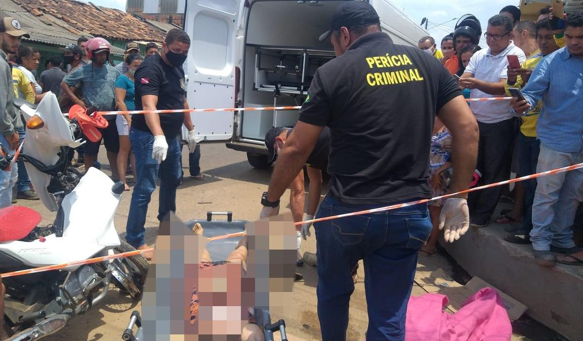 Acidente no bairro da Paz decreta o fim da vida de uma motociclista