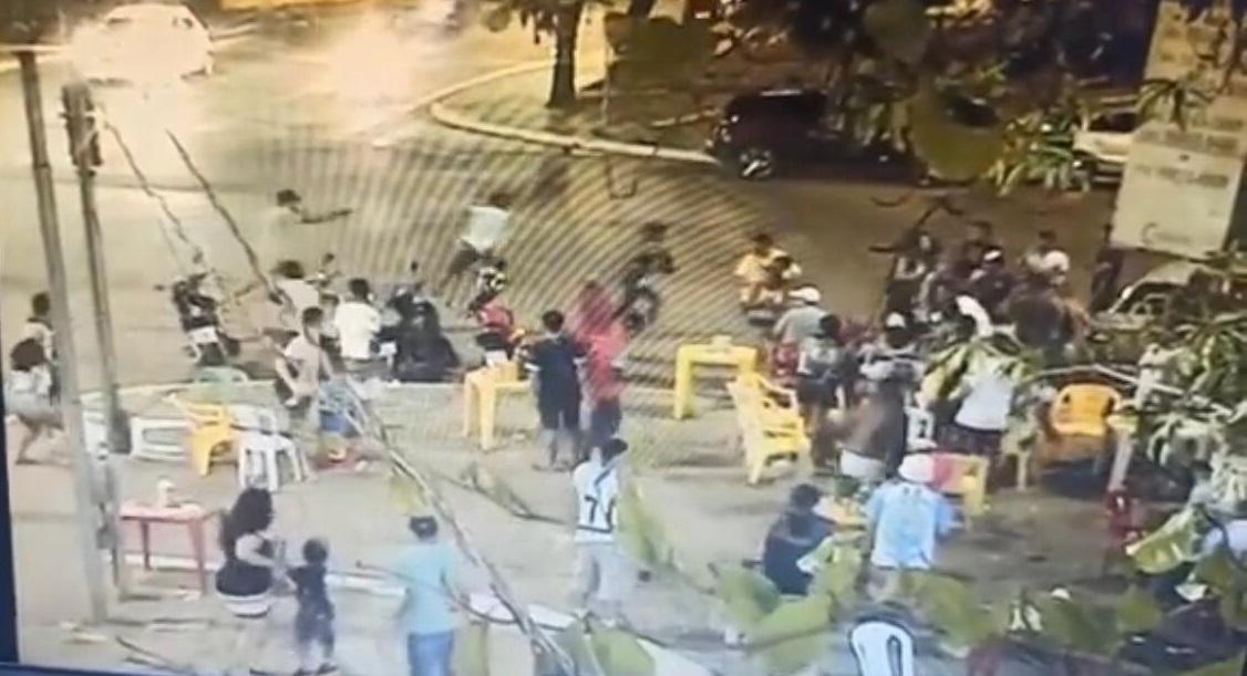 """Tentativa de homicídio """"regada"""" a muitos tiros no centro de Parauapebas"""