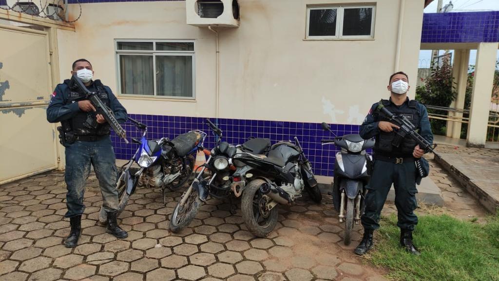 Eldorado: PM prende perigosos ladrões de motocicletas