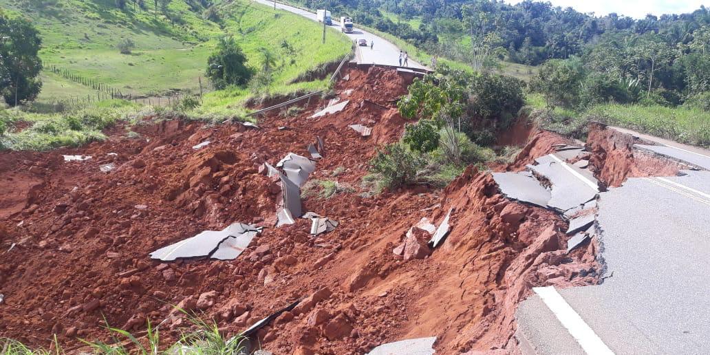 MPF solicita ao Dnit providências urgentes após desabamento de trecho da rodovia BR-230