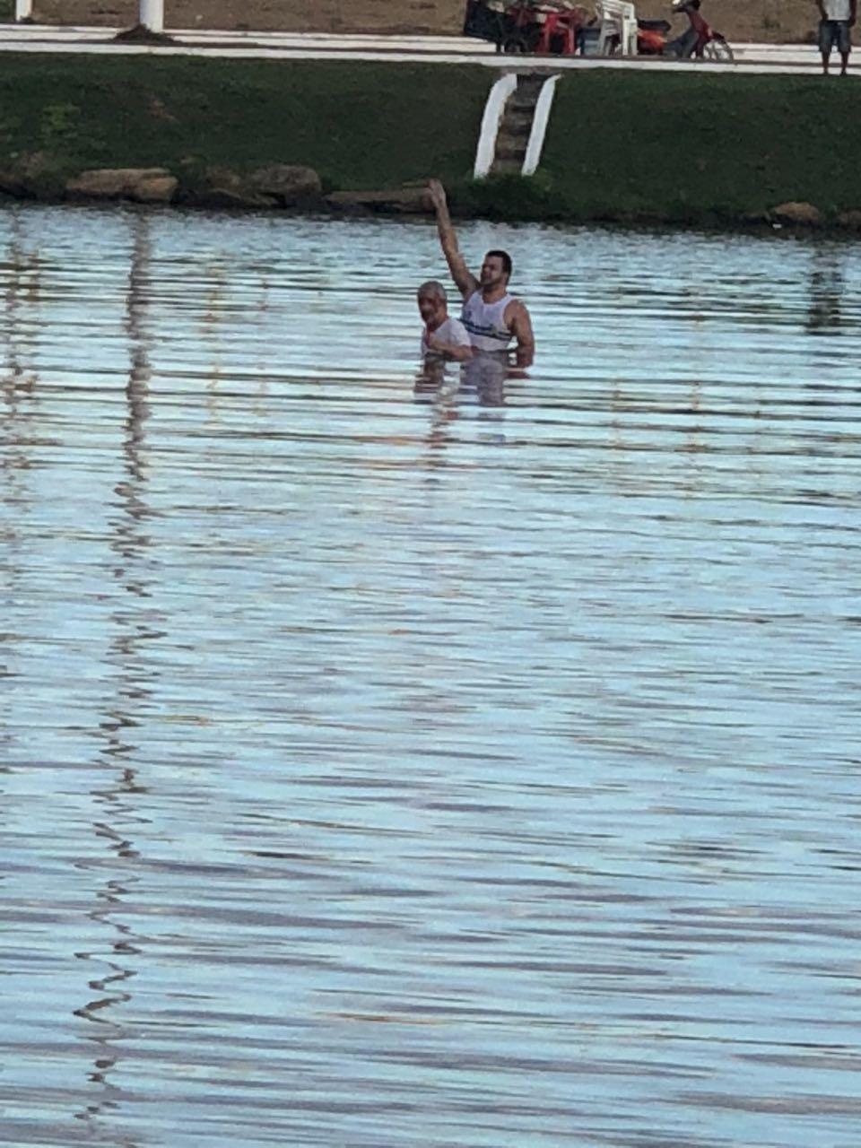 Piloto e passageiro sobrevivem a queda de avião no lago do Nova Carajás