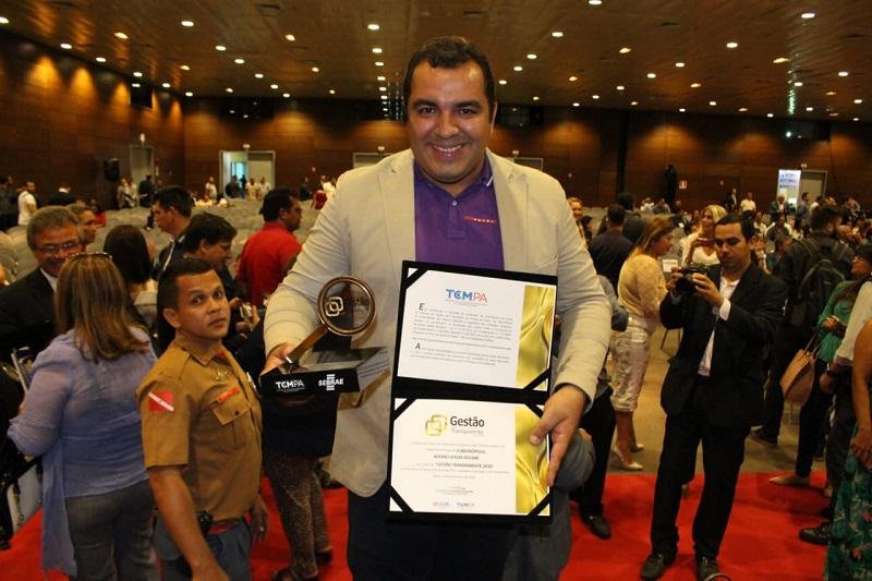 Curionópolis recebe Selo Dourado de Gestão Transparente