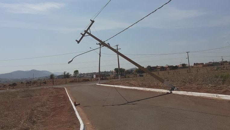 Parauapebas teve mais de 80 colisões de veículos em postes