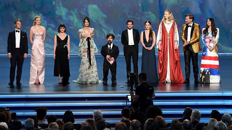 'Game of Thrones' se despede do Emmy com marca histórica
