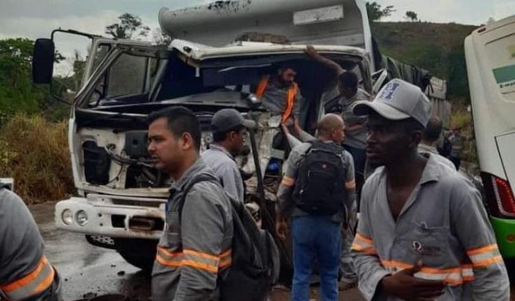 Grave acidente na estrada do Salobo, em Parauapebas