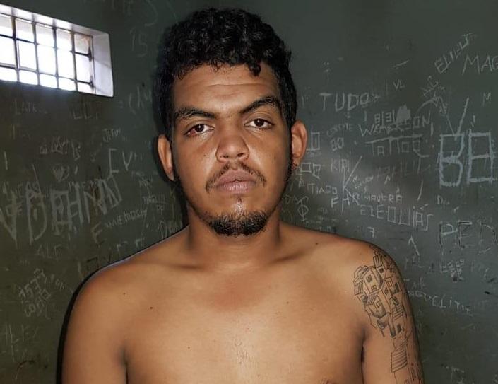 """""""Catuaba"""" é preso por suspeita de homicídio, roubo e receptação"""