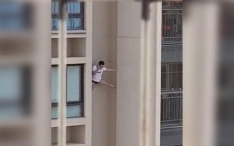 China: homem morre ao fugir da casa de amante pelas paredes de prédio