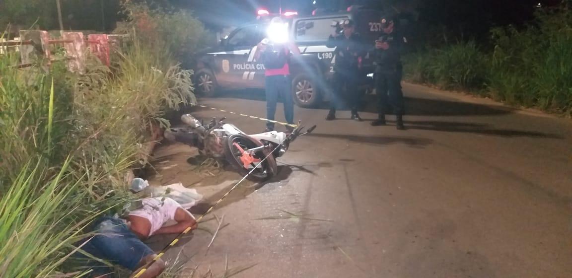 Em Parauapebas, jovem morre ao perder controle de motocicleta Pop