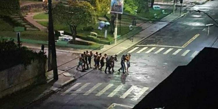Cametá vive madrugada de terror em assalto ao banco semelhante ao de SC