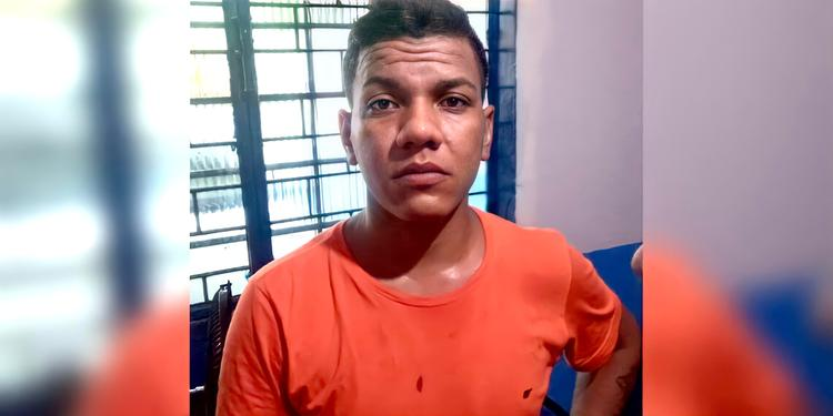 Acusado de matar pai e filho bebê é preso após assaltar casa de bombeiro, em Marabá