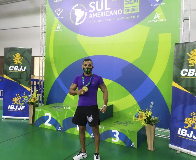 Soldado da PM é campeão Sul Americano de Jiu-Jitsu