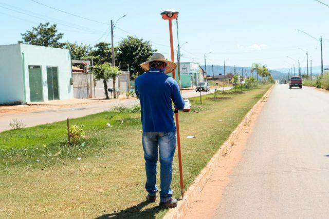 Idurb realiza levantamento topográfico de mais de 1,8 milhão de m² em Canaã