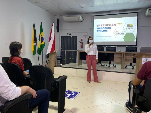 """""""O mundo mudou e a Fenecan também"""", diz Josemira, ao apresentar evento a empresários"""