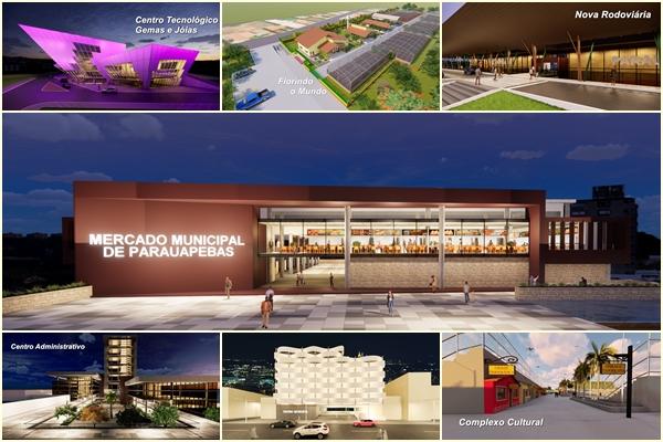 Prefeitura lança maior pacote de obras da história de Parauapebas
