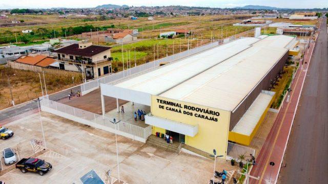 Canaã dos Carajás põe em funcionamento a rodoviária mais moderna do sudeste paraense